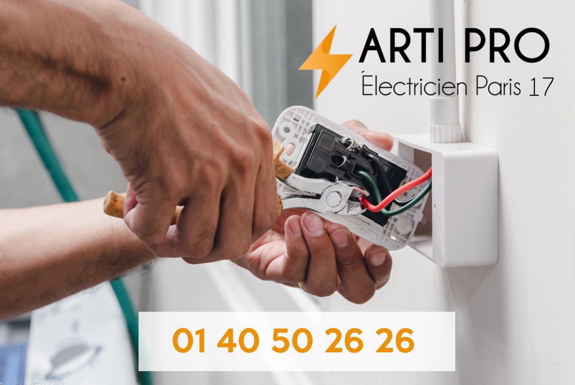 Arti Pro Electricien Pro Paris 17