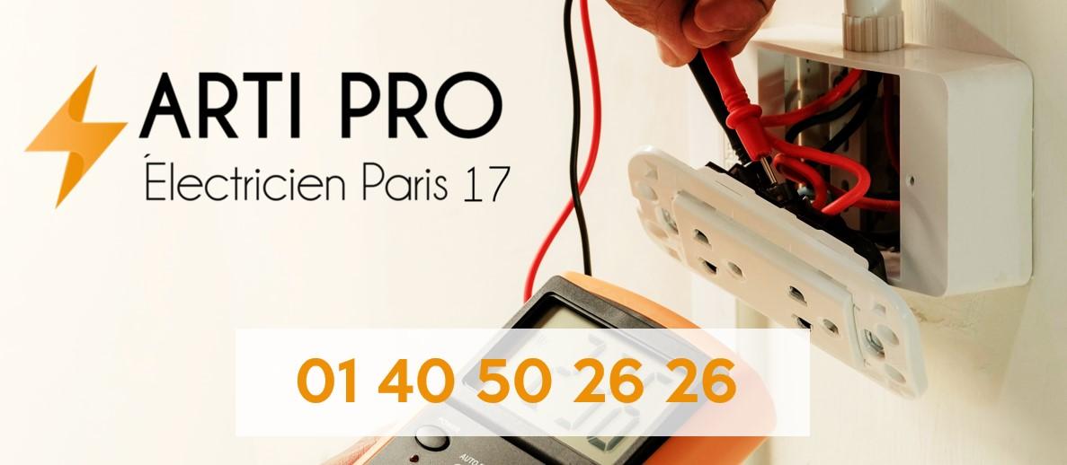 Arti Pro - Electricité Paris 17 - Quartier des Ternes